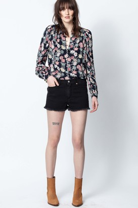 Zadig & Voltaire Tiffany Print Flower Tunic