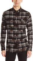 Neff Men's Burger Flannel Shirt
