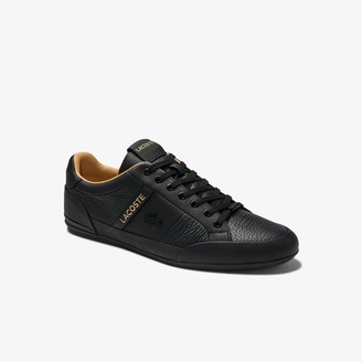 Lacoste Men's Chaymon Leather Trainers