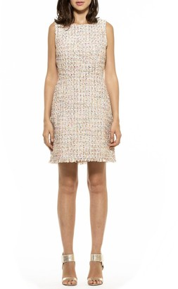 Alexia Admor Isabelle Tweed Sheath Dress