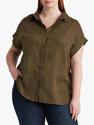 Ralph Lauren Ralph Curve Broona Short Sleeve Linen Shirt