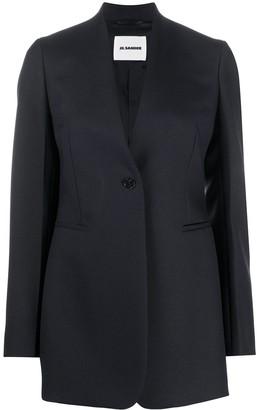 Jil Sander Short Single-Breasted Coat