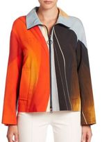 Akris Punto Main Sail Print Cotton Jacket