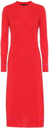 Proenza Schouler Silk and cashmere-blend dress