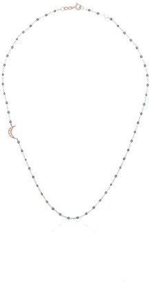 Gigi Clozeau 18kt Gold Micro Beaded Necklace