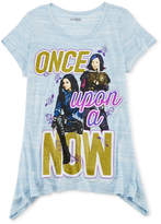 JCPenney DESPICABLE ME MINION MADE Disney Descendants Graphic Sharkbite Tee - Girls 7-16