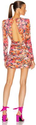 Rococo Sand Peony Mini Dress in Multi | FWRD