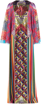 Mary Katrantzou Lapwing Printed Caftan Dress