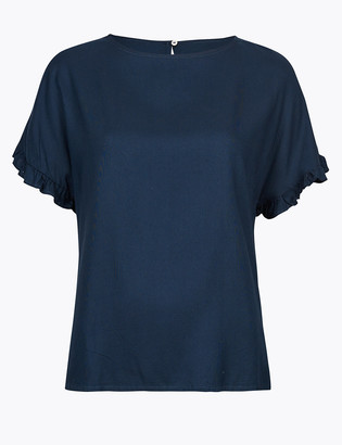 Marks and Spencer Short Sleeve Blouse