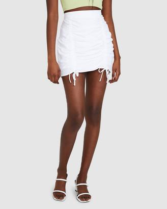 Don't Ask Amanda Sally Scruched Skirt