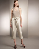 Cinched-Waist Trousers