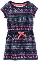 Osh Kosh Geo Printed Dress - Print - 4T