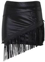 Numero 00 Numero00 Women's Black Cotton Skirt.