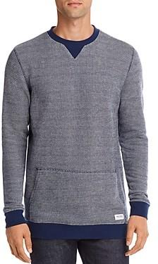 Banks Journal Color-Block Birdseye-Knit Sweater