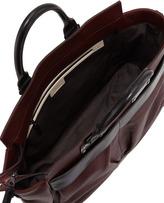 Rag and Bone Rag & Bone Pilot Large Leather Satchel Bag, Wine