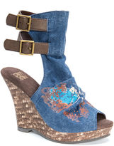 Muk Luks Sage Womens Wedge Sandals