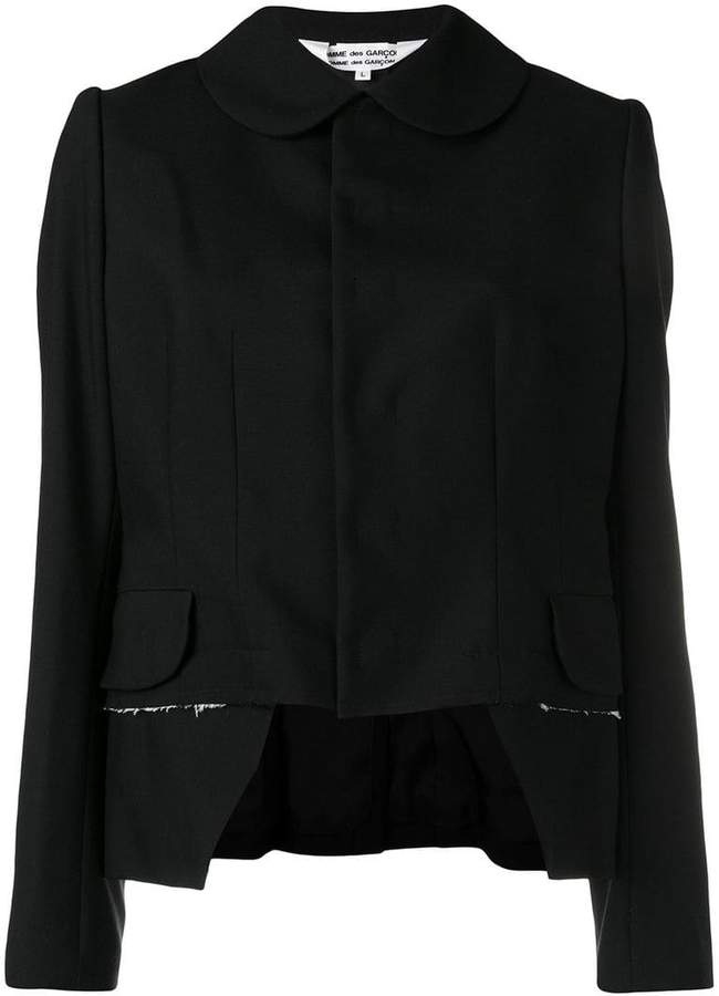 Comme des Garcons cropped fitted jacket