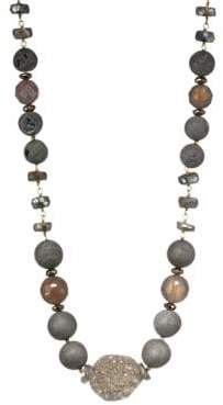 Chan Luu Mystic Lab& Sterling Silver Mix Necklace