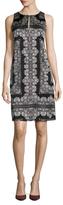 Nanette Lepore Country Lane Silk A-Line Dress