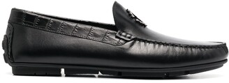 Roberto Cavalli Logo Plaque Loafers