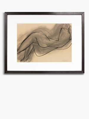 Matisse Unbranded Henri 'Nu Couche Du Dos' Wood Framed Print & Mount, 47 x 67cm, Brown