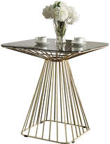 Asstd National Brand Rianne Glass-Top Dining Table