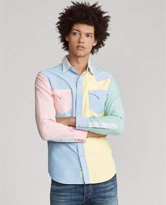 Ralph Lauren Custom Fit Western Fun Shirt