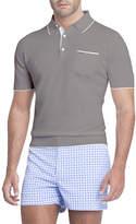 Stefano Ricci Contrast-Facing Jersey Polo Shirt