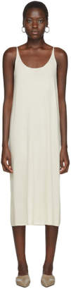 Off-White Arch The Silk and Cashmere Dress