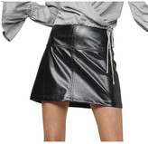 MinkPink Haiku Pu Mini Skirt