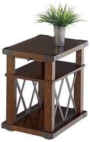 Progressive Landmark End Table Chairside - Vintage Ash Furniture