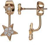 Lauren Conrad Star Ear Jacket Earrings