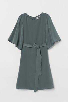 H&M Silk Dress - Green