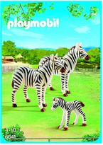 Playmobil Zebra Family Set - 6641