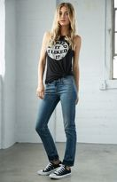 Bullhead Denim Co. Dip Indigo Low Rise Skinny Jeans