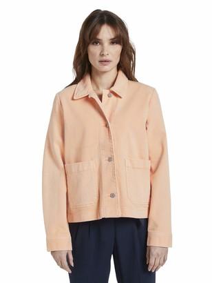 Tom Tailor Women's Color Twill Denim Jacket