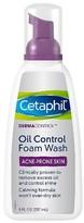 Cetaphil DermaControl Oil Control Foam Wash - 8 oz