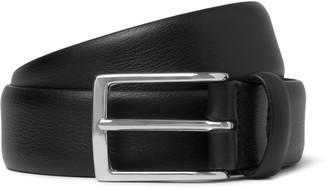 Andersons 3cm Black Leather Belt