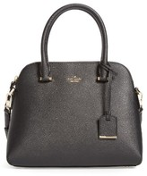 Kate Spade Cameron Street Maise Leather Satchel - Black