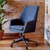 Helvetica High-Back Upholstered Office Chair