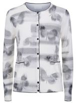 Escada Sport Butterfly Pattern Cardigan
