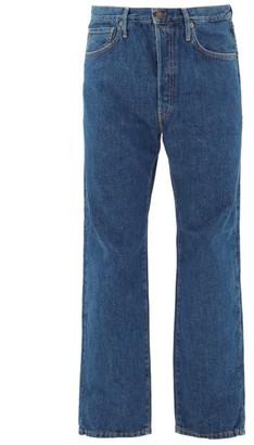 Acne Studios 2003 Straight-leg Cotton Jeans - Navy