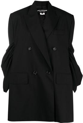 Junya Watanabe Oversize Gathered-Sleeve Jacket