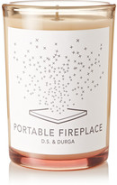 D.S. & Durga Portable Fireplace Scented Candle, 200g - Colorless