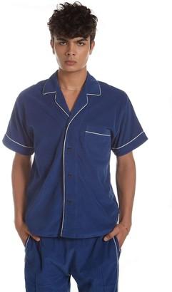 LES TIEN Cotton Lounge Shirt