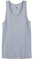 Petit Bateau Men's plain cotton tank top