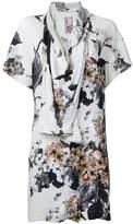 Antonio Marras printed draped blouse