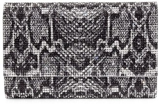 Judith Leiber Couture Fizzoni Slither Crystal Clutch