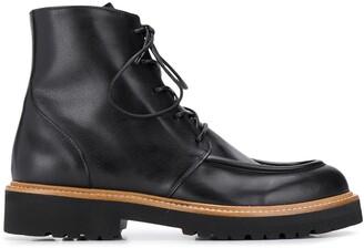 Rupert Sanderson Vesper lace-up ankle boots