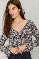 Factory Chelsea Morning Floral Top